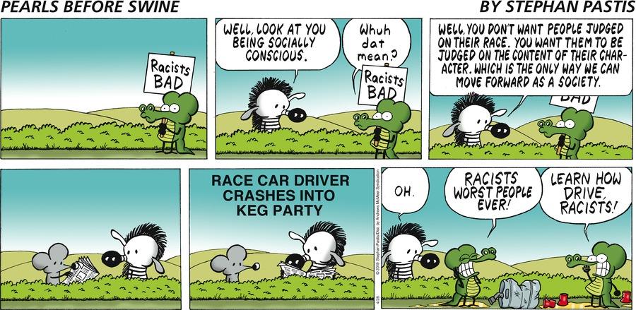 Pearls Before Swine Comic Strip for April 28, 2019