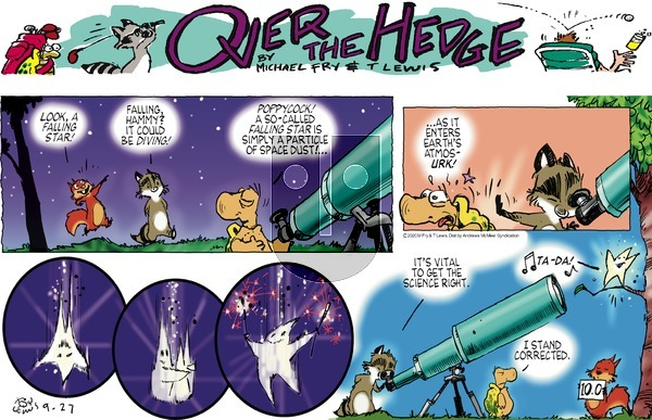 Over the Hedge on Sunday September 27, 2020 Comic Strip