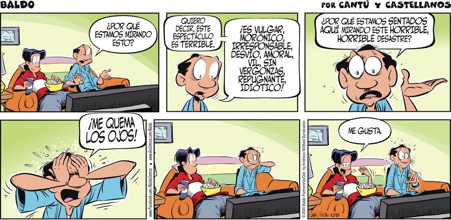 Baldo en Español Comic Strip for October 18, 2020