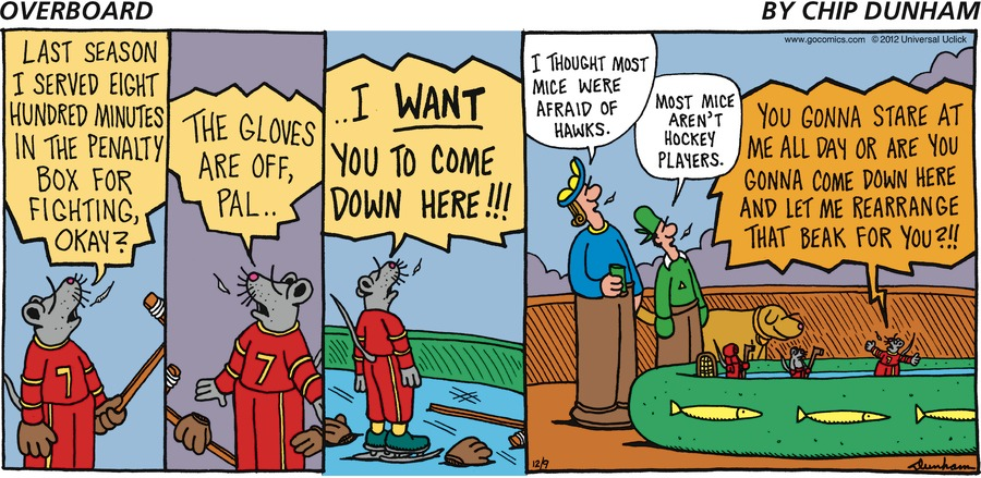 Overboard Comic Strip for December 09, 2012