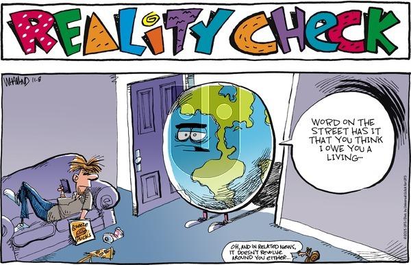 Reality Check on Sunday November 8, 2015 Comic Strip