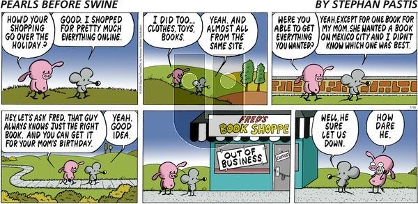 Pearls Before Swine on Sunday January 14, 2018 Comic Strip