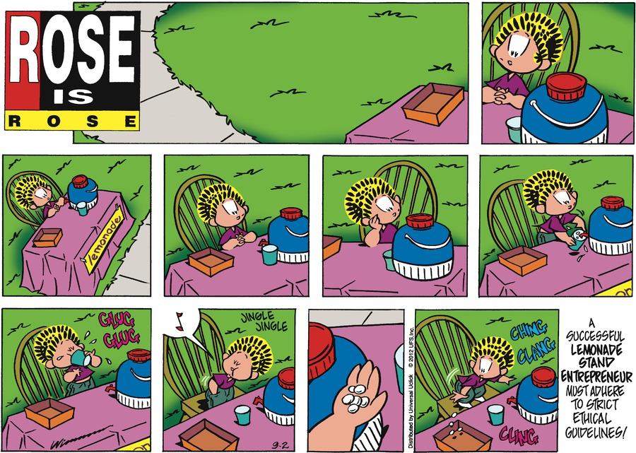 Rose is Rose for Sep 2, 2012 Comic Strip