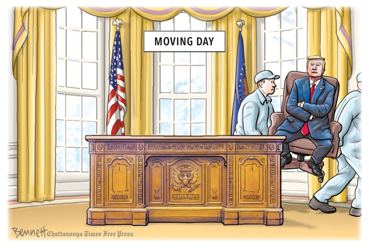 Clay Bennett by Clay Bennett on Sat, 26 Sep 2020