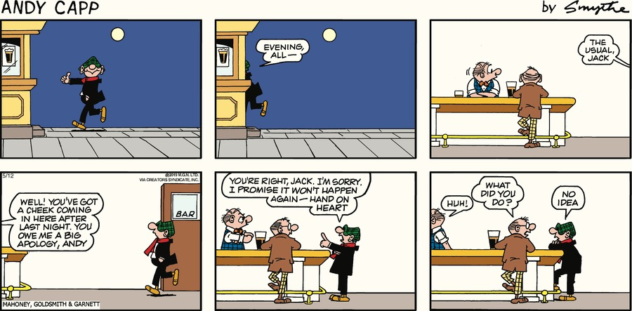 Andy Capp by Reg Smythe for May 12, 2019
