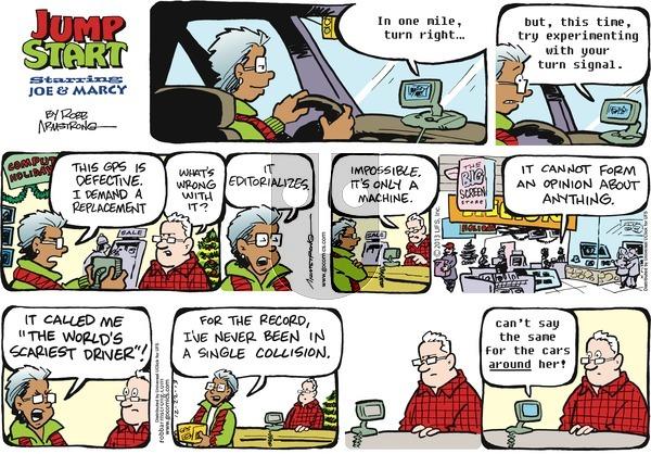 JumpStart on Sunday December 22, 2013 Comic Strip
