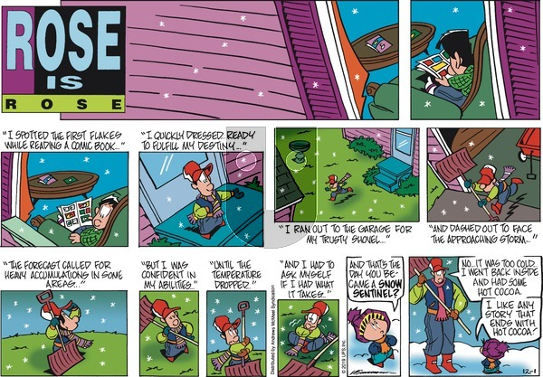 Rose is Rose on Sunday December 1, 2019 Comic Strip