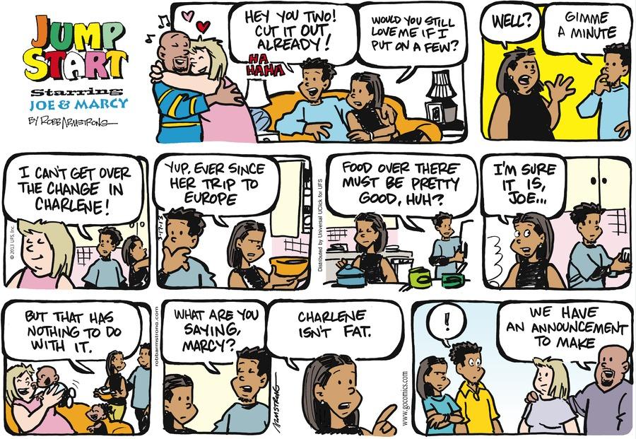 JumpStart for Mar 17, 2013 Comic Strip