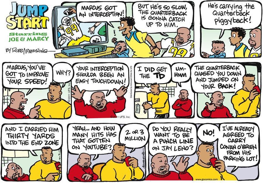 JumpStart for Oct 9, 2011 Comic Strip