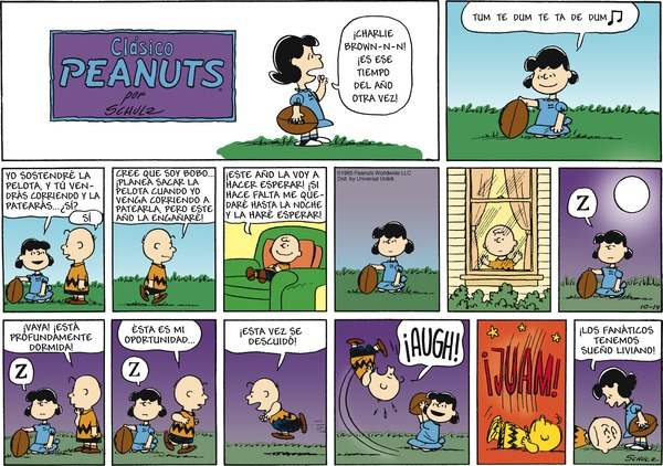 Collectible Print of peanuts en espanol