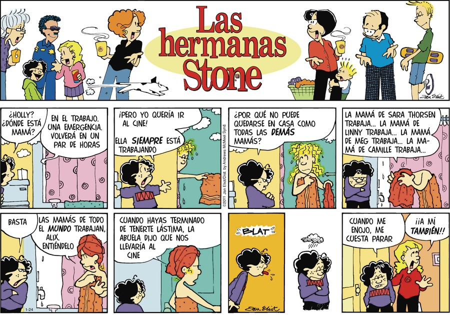 Las Hermanas Stone by Jan Eliot on Sun, 24 Jan 2021