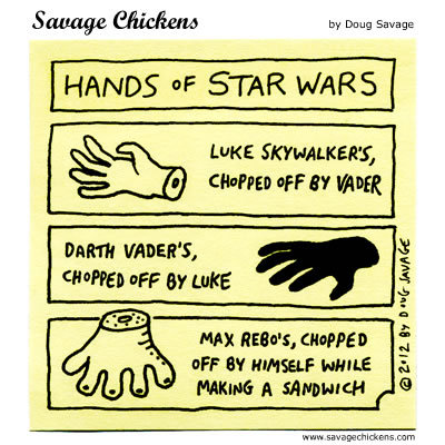 Savage Chickens Comic Strip for July 14, 2016