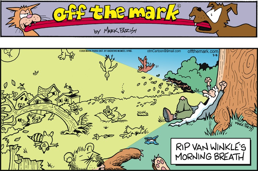 Off the Mark Comic Strip for March 08, 2020