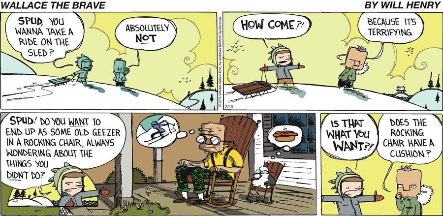 Wallace the Brave Comic Strip for March 10, 2019