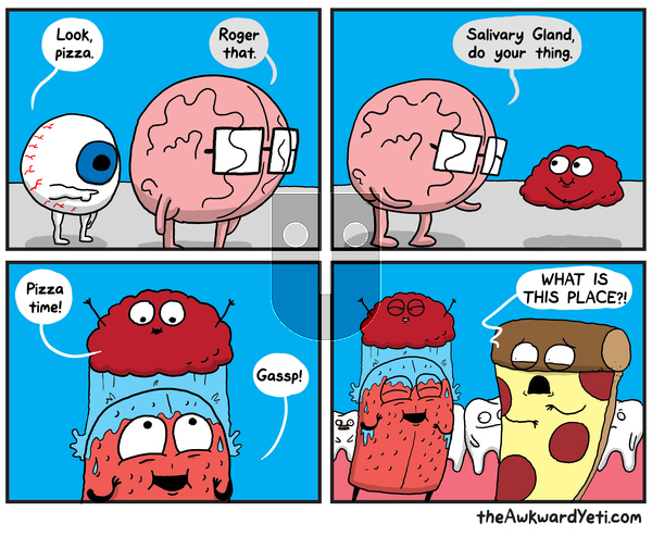 The Awkward Yeti on Monday September 16, 2019 Comic Strip