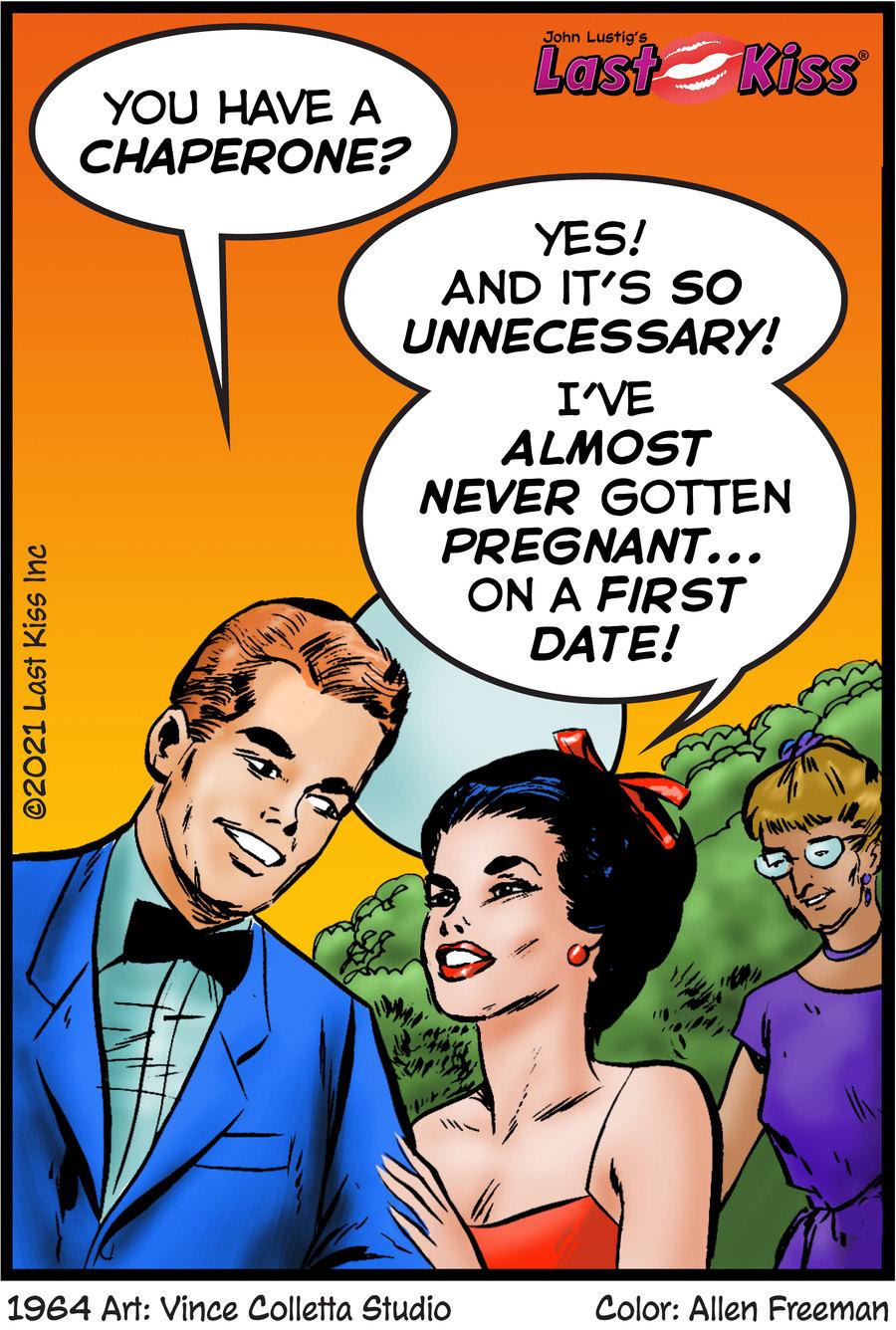 Last Kiss Comic Strip for July 28, 2021