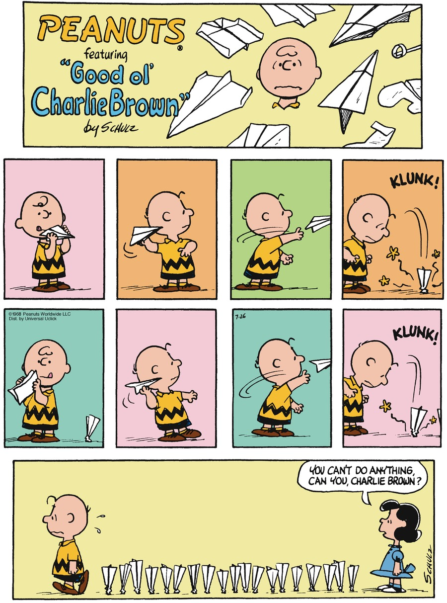 Peanuts for Jul 26, 2015 Comic Strip