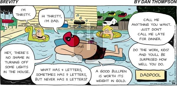 Brevity - Sunday June 17, 2018 Comic Strip