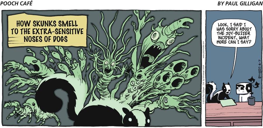 Pooch Cafe Comic Strip for June 07, 2015