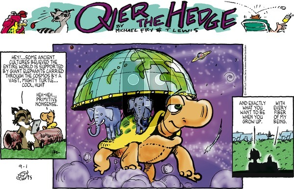 Over the Hedge - Sunday September 1, 2019 Comic Strip