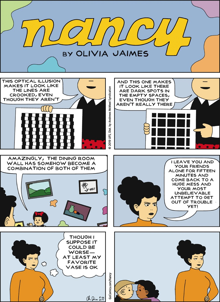 Nancy by Olivia Jaimes for May 26, 2019