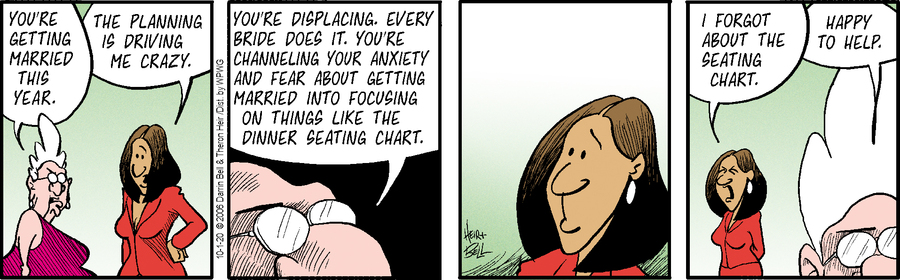 Rudy Park Comic Strip for October 01, 2020