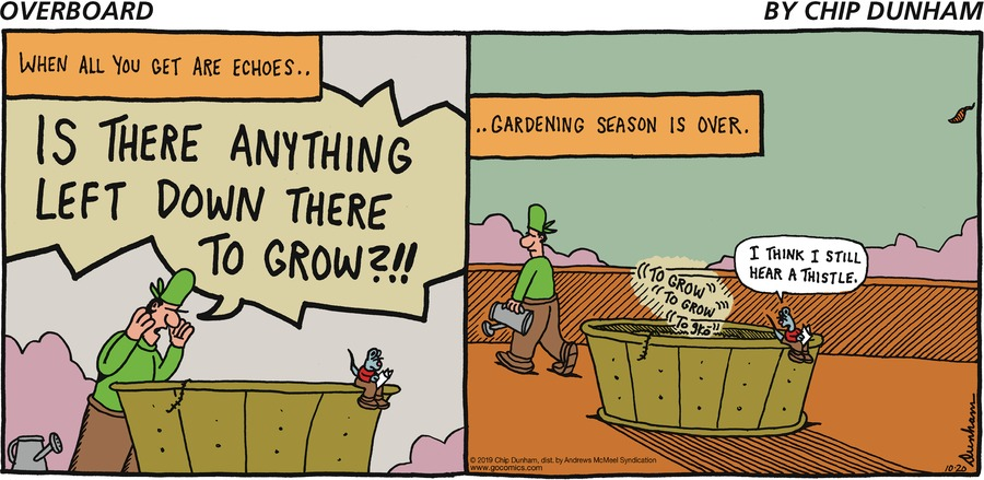 Overboard Comic Strip for October 20, 2019