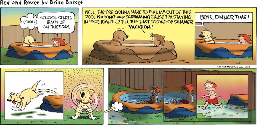 Red and Rover for Aug 31, 2014 Comic Strip