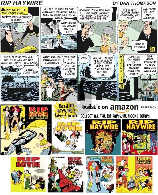 Rip Haywire on Sunday January 20, 2019 Comic Strip