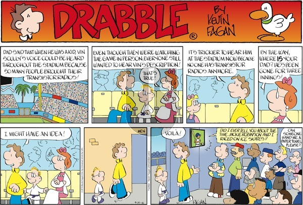 Drabble on Sunday September 25, 2016 Comic Strip
