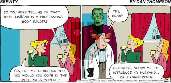 Brevity - Sunday September 10, 2017 Comic Strip