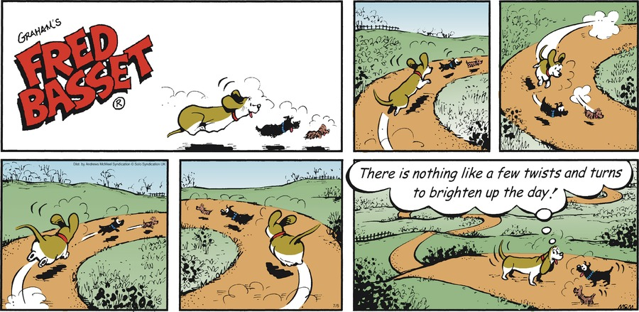 Fred Basset Comic Strip for July 05, 2020