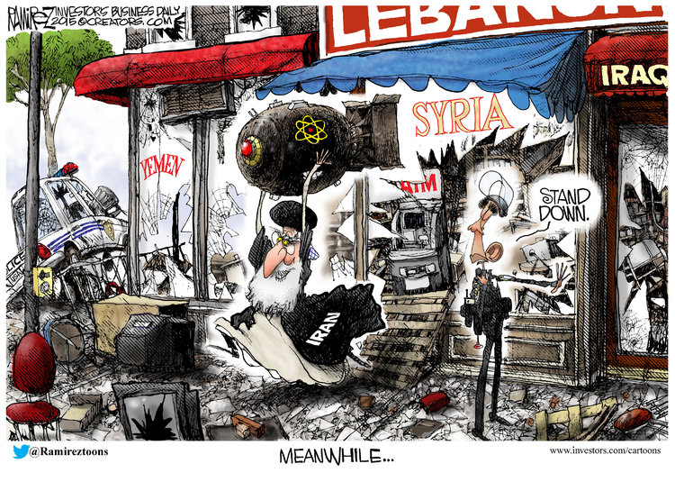 Michael Ramirez for May 3, 2015 Comic Strip