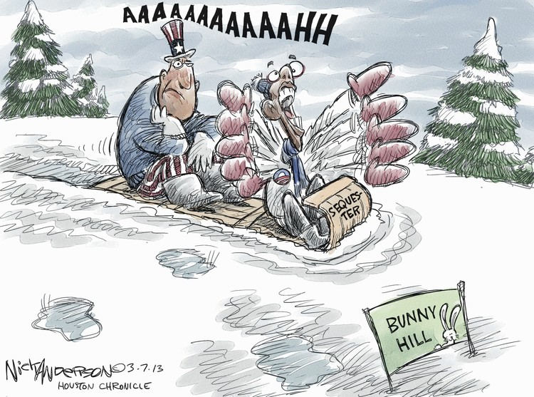 Nick Anderson for Mar 7, 2013 Comic Strip