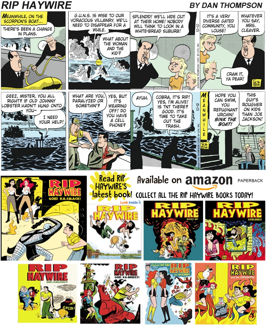 Rip Haywire Comic Strip for January 20, 2019