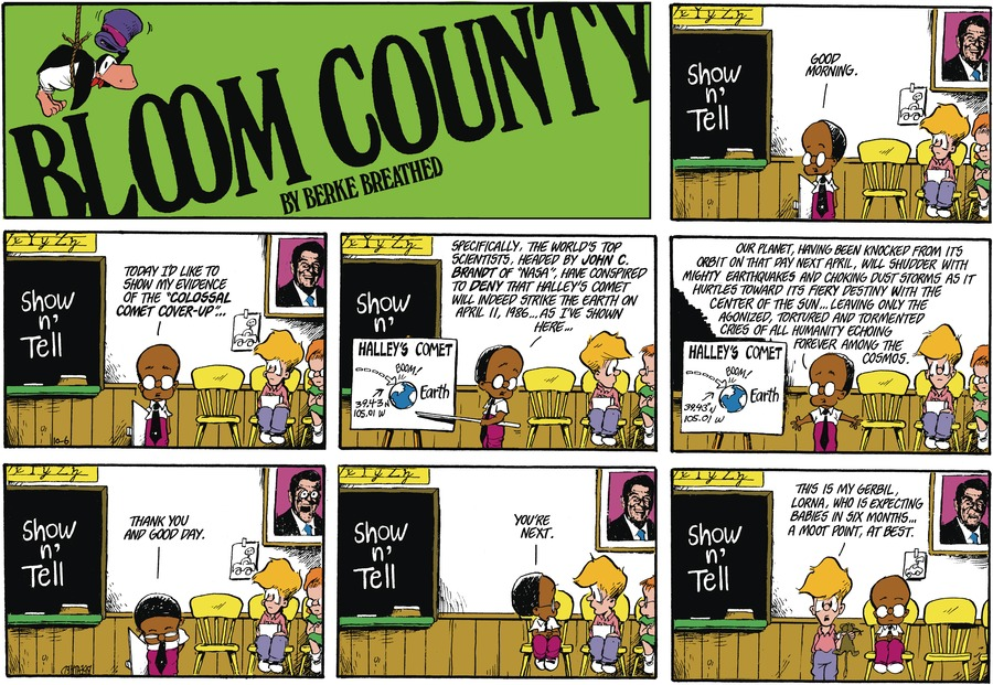 Bloom County by Berkeley Breathed on Tue, 19 Oct 2021