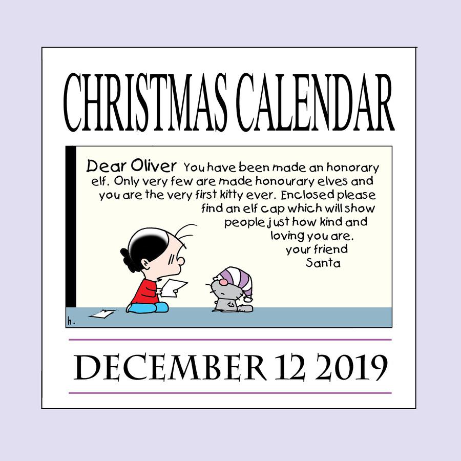 Ten Cats Comic Strip for December 12, 2019