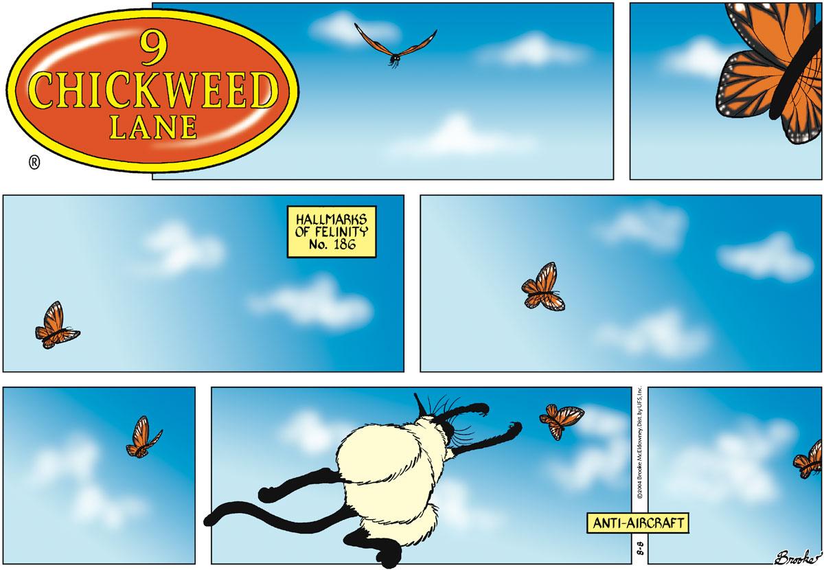 9 Chickweed Lane for Aug 8, 2004 Comic Strip