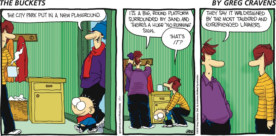 The Buckets Comic Strip for March 31, 2019