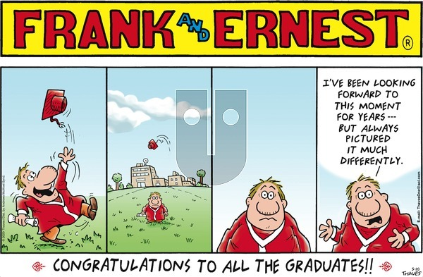 Frank and Ernest on Sunday May 10, 2020 Comic Strip