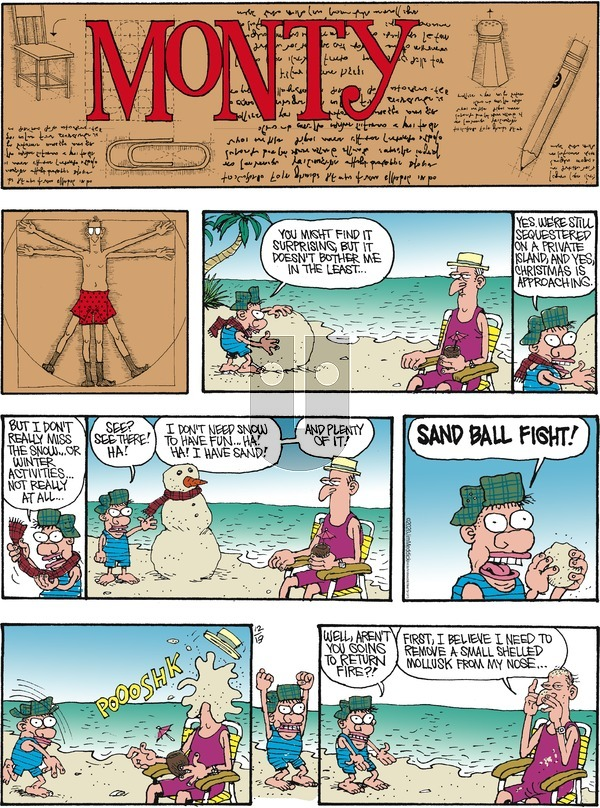 Monty on Sunday December 13, 2020 Comic Strip