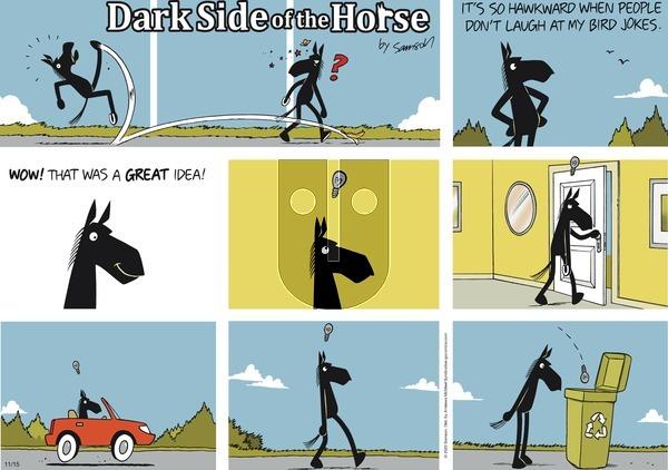 Dark Side of the Horse on Sunday November 15, 2020 Comic Strip