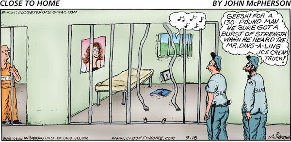 Close to Home Comic Strip for September 18, 2011