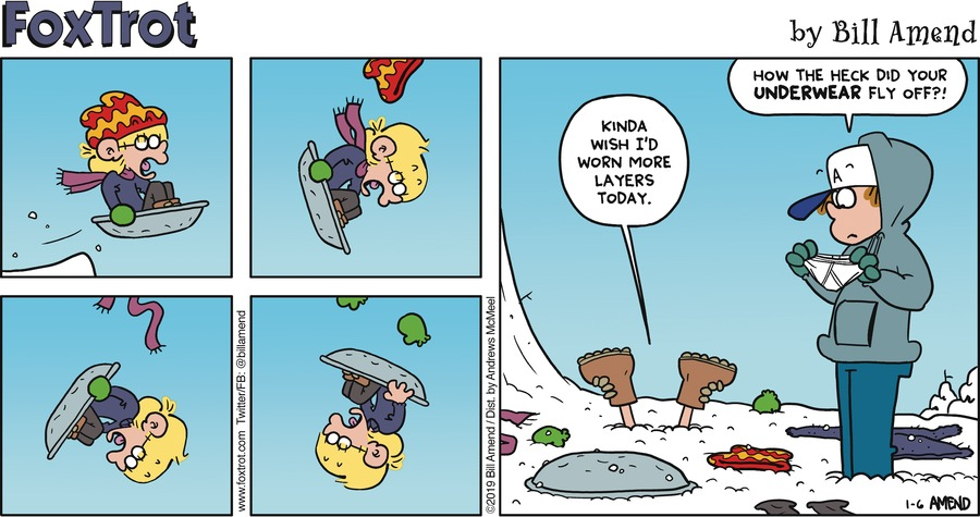 FoxTrot Comic Strip for January 06, 2019