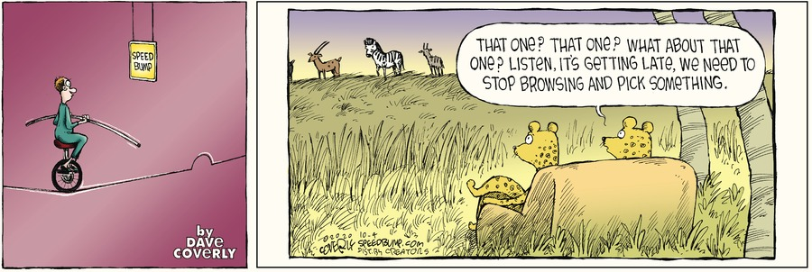 Speed Bump Comic Strip for October 04, 2020