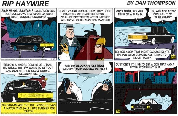Rip Haywire - Sunday January 31, 2021 Comic Strip