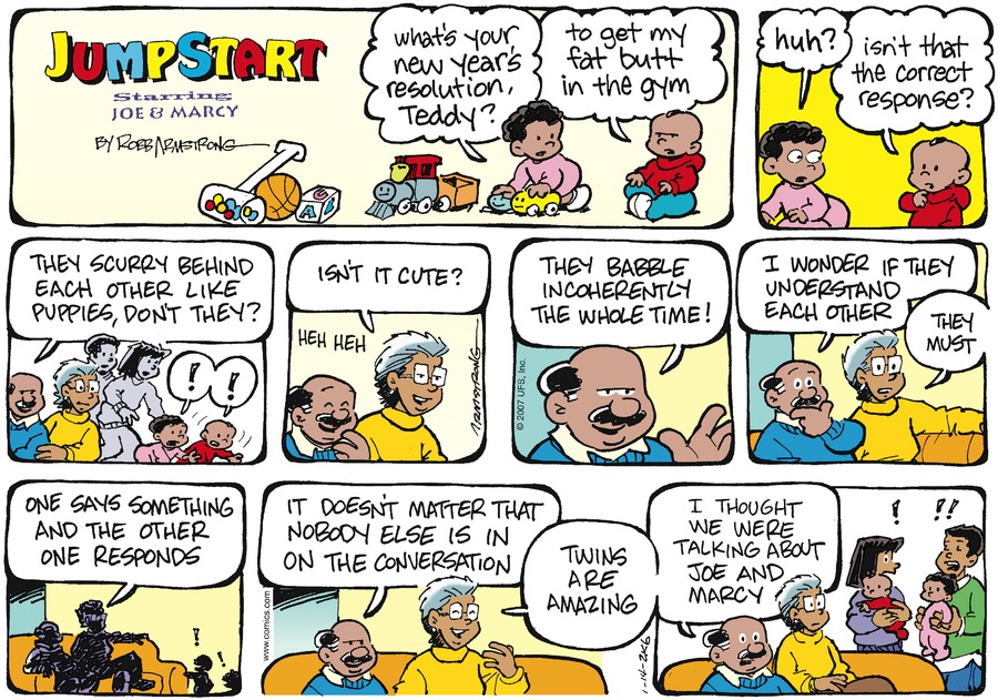 JumpStart Comic Strip for January 14, 2007