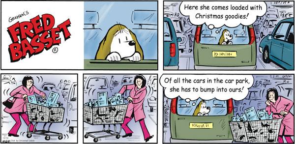 Fred Basset Comic Strip for December 19, 2010