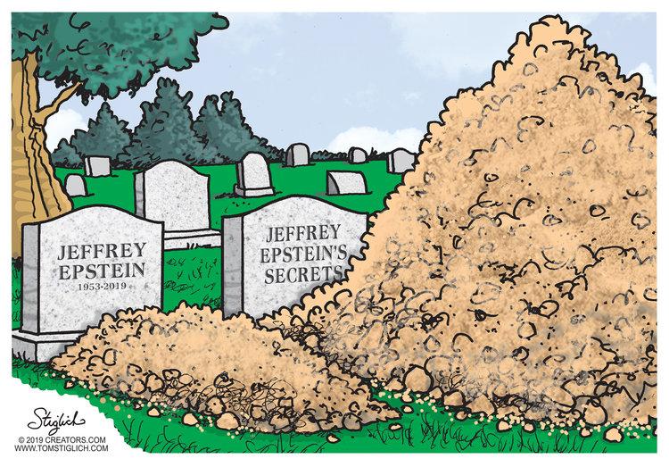 Tom Stiglich Comic Strip for August 12, 2019