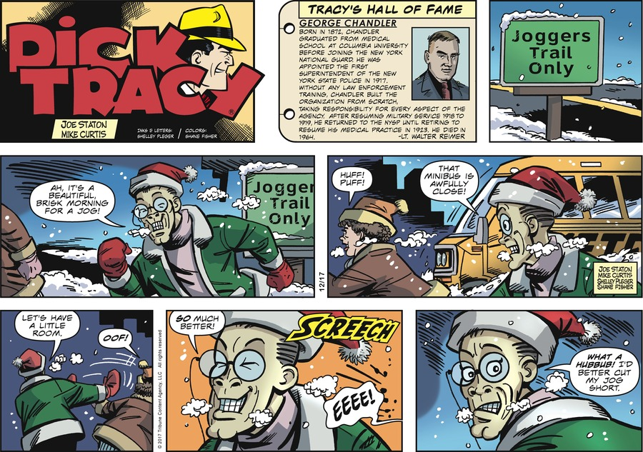Dick Tracy Comic Strip for December 17, 2017